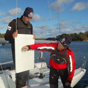 Planering, FarEast 28 segling utanför Djurönäset.