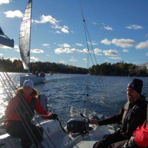 FarEast 28 segling på Djurönäset