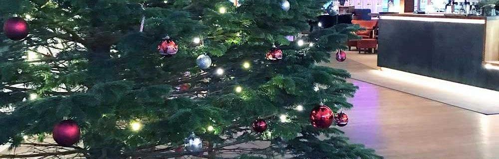 Julklappsinsamling på Djurönäset, Stockholms skärgård.
